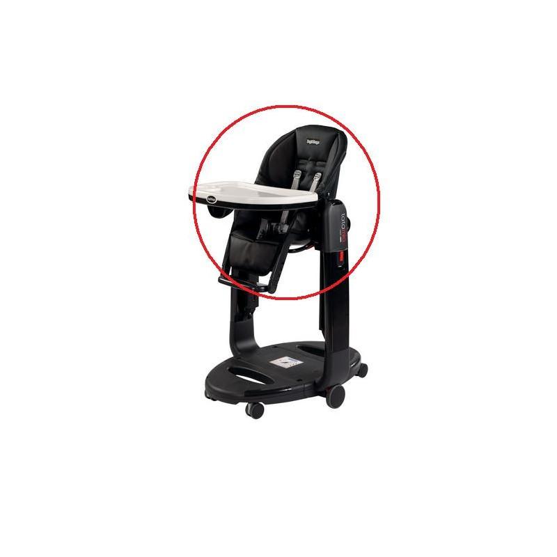 Housse chaise haute Tatamia black Peg Perego